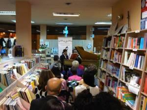 recital de clave en Amadeus Libreria de Musica