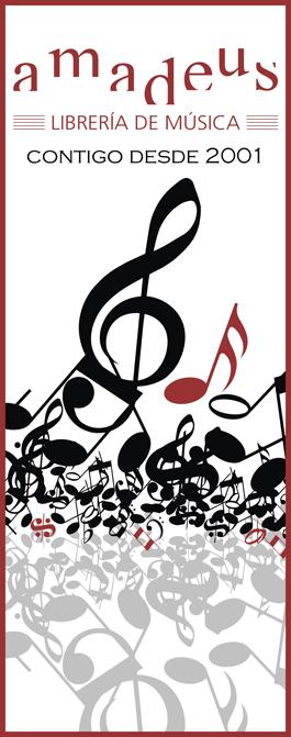 Amadeus Librería de Música CONTIGO DESDE 2001